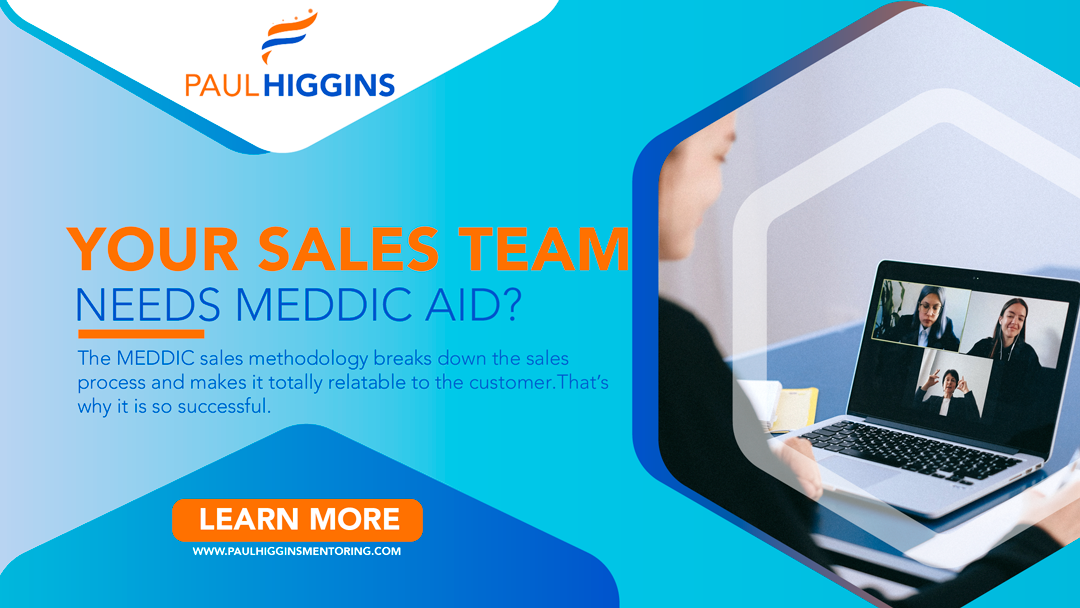 The MEDDIC sales methodology breaks down the sales process and makes it totally relatable to the customer. That's why it is so successful.